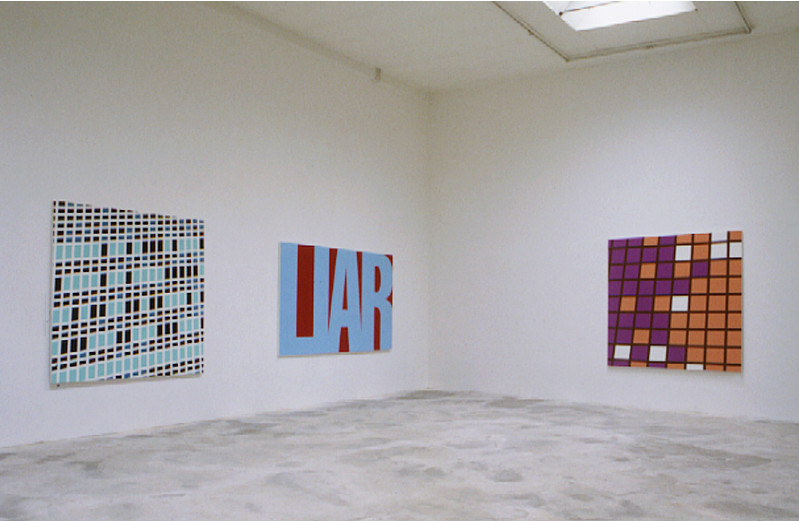 Sarah Morris Painting Installation Centre Contemporain Art Dijon